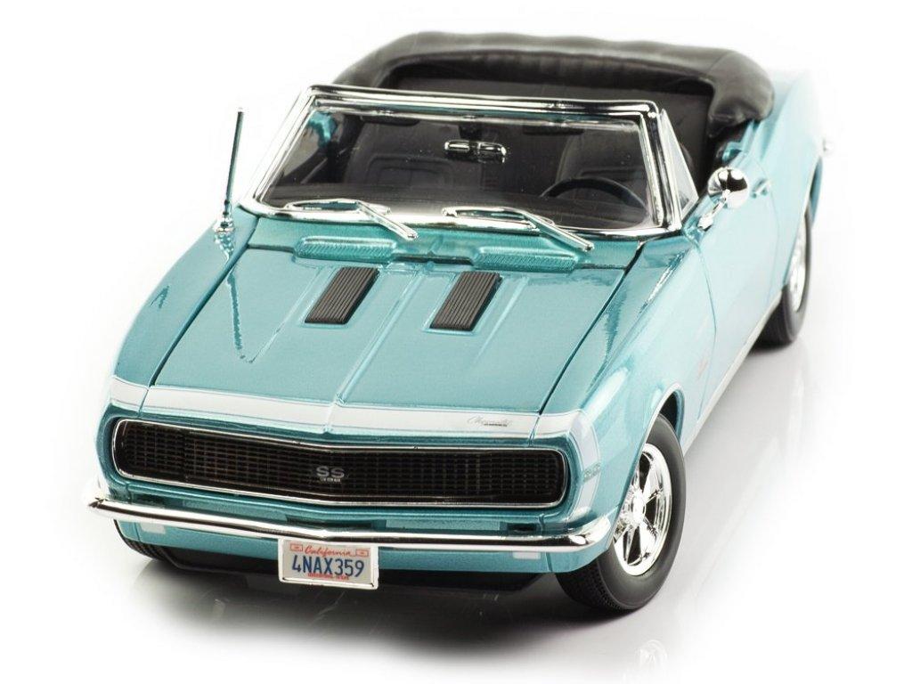 1:18 Maisto Chevrolet Camaro SS 396 синий