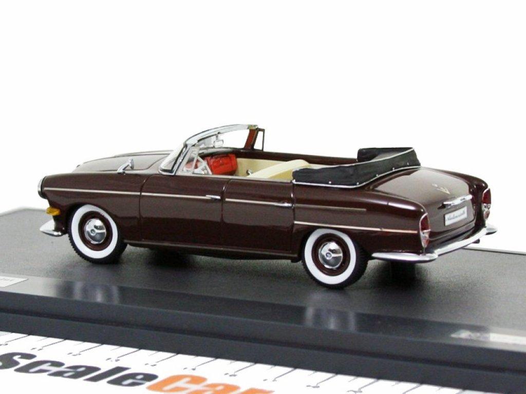 1:43 Matrix BMW 502 3200 V8 Super Cabriolet Autenrieth 1959 Brown
