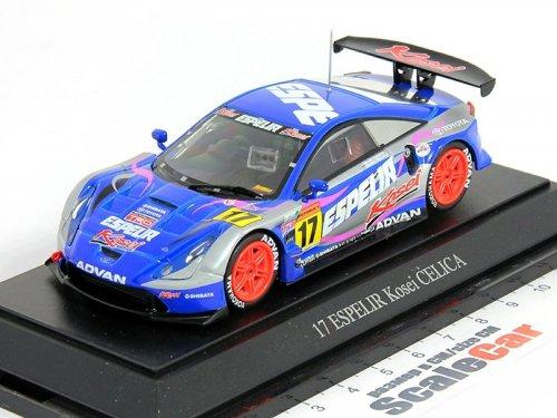 1:43 Ebbro Espelir Kosei Toyota Celica JGTC 300 class 2004