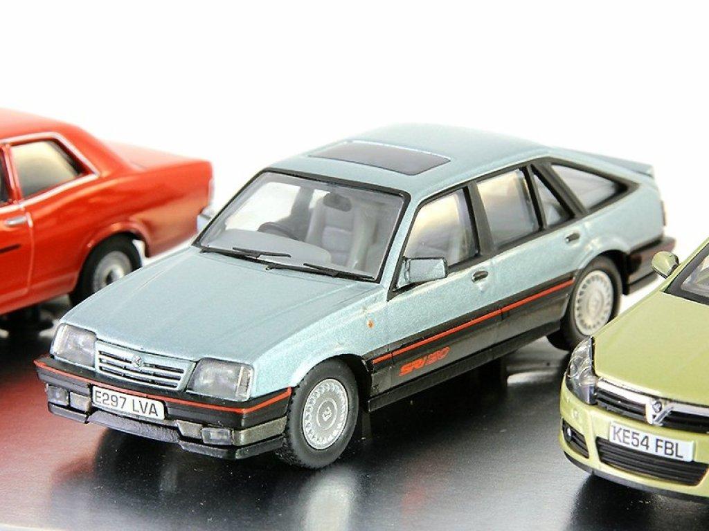 1:43 Vanguards Набор 100 лет Vauxhall из 4х моделей Velox 1957, Viva 1966, Cavalier MK II 1981, Astra MK V 2004
