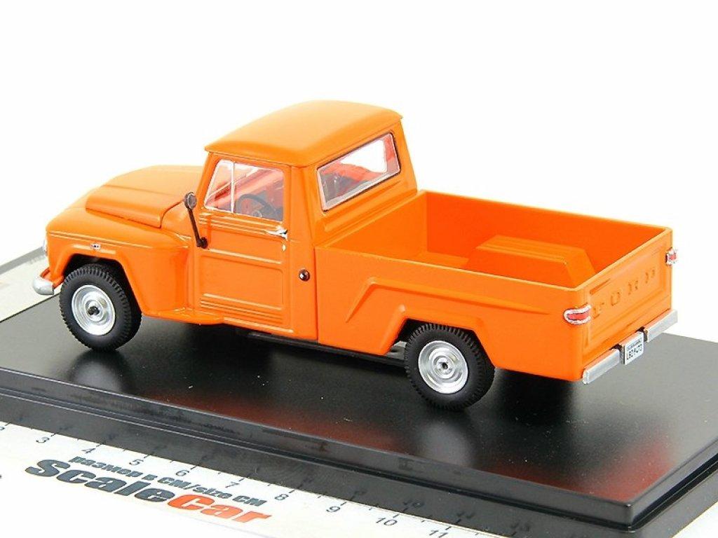 1:43 PremiumX FORD F-75 Pick Up оранжевый