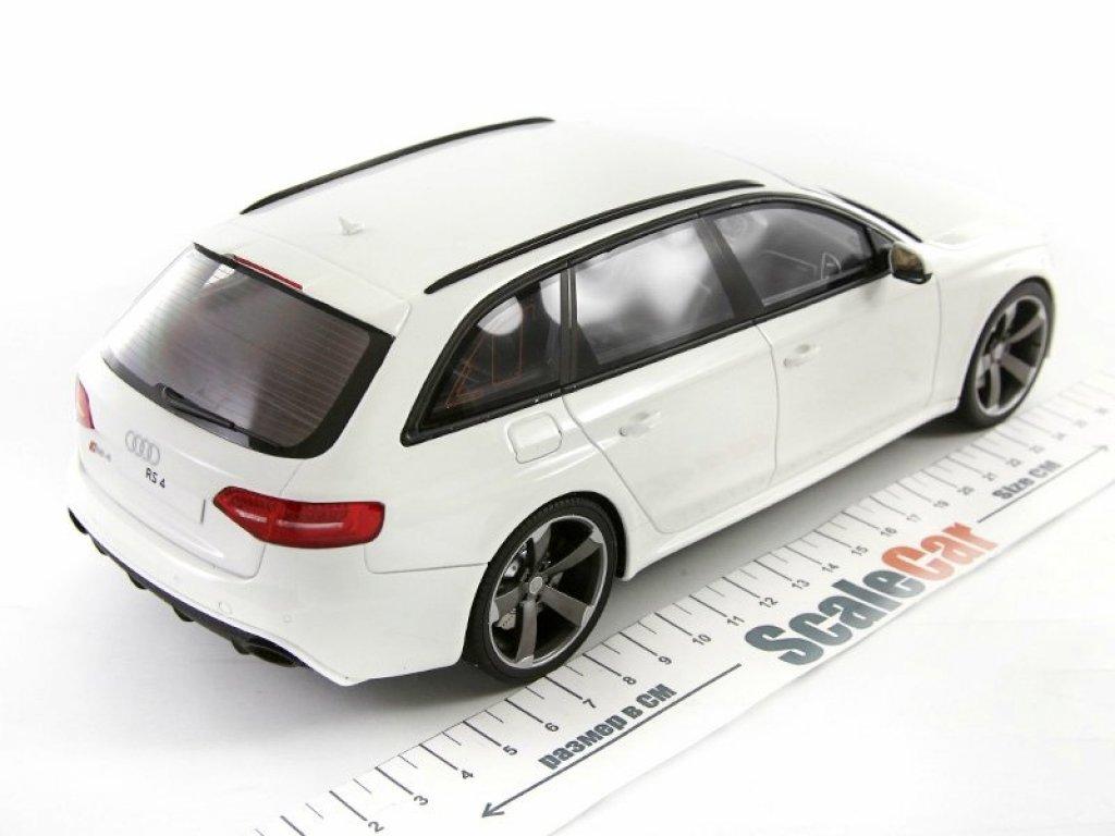 1:18 GT Spirit Audi RS4 B8 белый