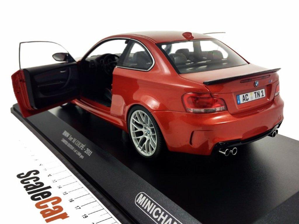 1:18 Minichamps BMW 1er M COUPÉ - 2011 оранжевый мет.