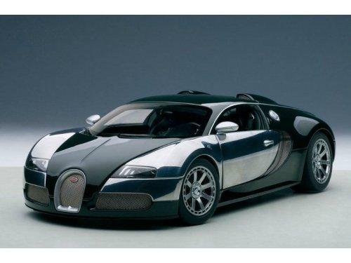 1:18 AUTOart Bugatti EB Veyron 16.4 LEdition Centenaire 2009 Malcolm Cambell (зеленый)