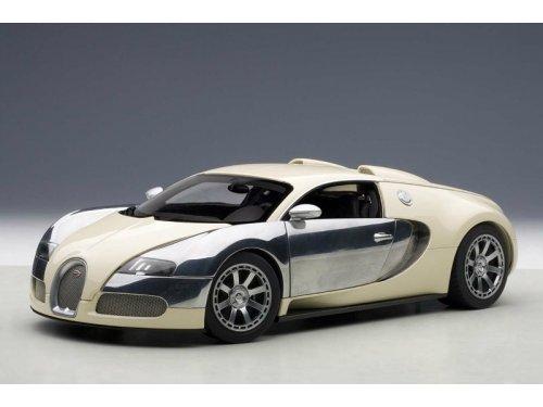 1:18 AUTOart Bugatti EB Veyron 16.4 LEdition Centenaire 2009 Hermann Zu Leiningen (белый)