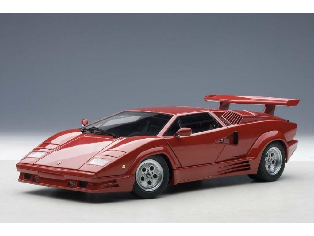 1:18 AUTOart Lamborghini Countach 1988 25th Anniversary Edition (красный)