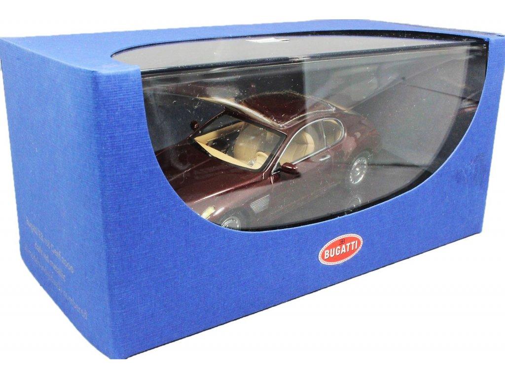 1:43 AUTOart Bugatti EB 118 Geneva 2000 dark red met.