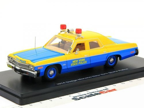 1:43 Auto World Dodge Monaco 1974 New York State Police