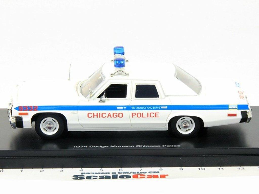 1:43 Auto World Dodge Monaco 1974 Chicago Police