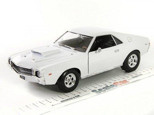 1:18 Auto World AMC AMX Hurst S/S 1969 Frost White