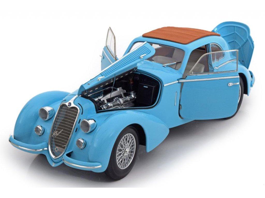 1:18 Minichamps ALFA ROMEO 8C 2900 B LUNGO 1938 LIGHT BLUE