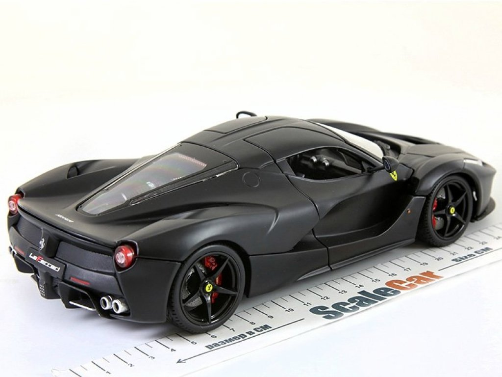 1:18 BBurago Ferrari LaFerrari черный