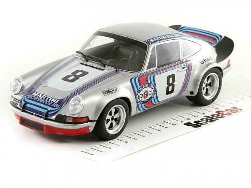 1:18 GT Spirit Porsche 911 Carrera 2.8 RSR #8 H.Muller/G.VanEnnep Martini Racing winner Targa Florio 1973 победитель Тарга Флорио 1973 г