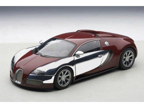 1:18 AUTOart Bugatti EB Veyron 16.4 Type LEdition Centenaire 2009 Achille Varzi красный