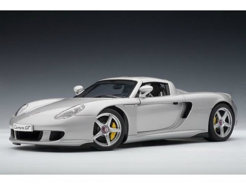 1:18 AUTOart Porsche Carrera GT серебристый