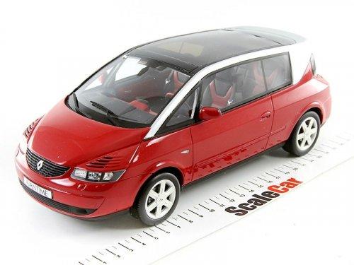 1:18 Otto Renault Avantime красный