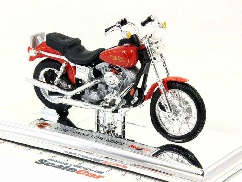 1:18 Maisto Мотоцикл Harley-Davidson FXDL Dyna Low Rider красный