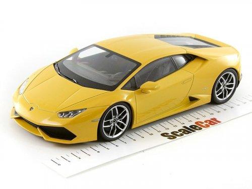 1:18 Kyosho Lamborghini Huracan LP 610-4 желтый