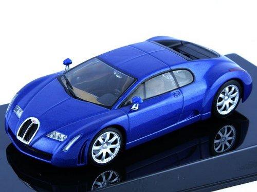1:43 AUTOart Bugatti Chiron 2001 синий