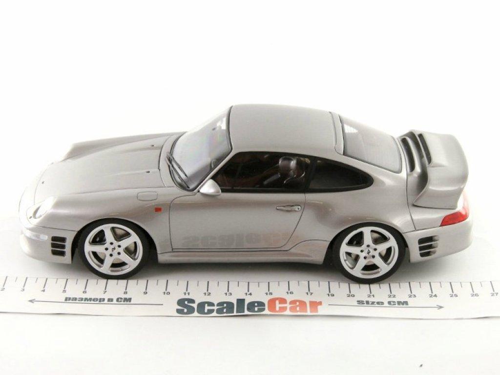1:18 GT Spirit Porsche 911 RUFF CTR 2 серебристый
