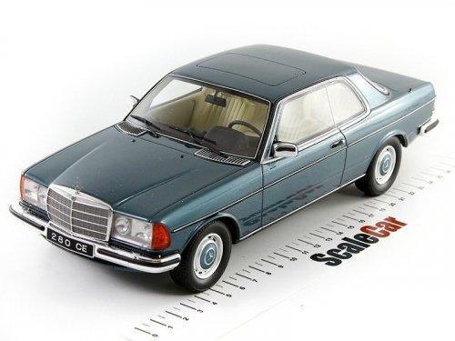1:18 Otto Mercedes-Benz 280CE Coupe C123 (W123) зеленый мет