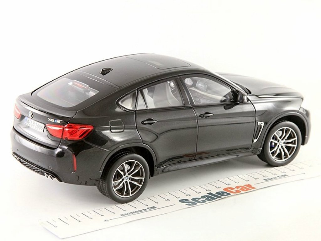 1:18 Norev BMW X6 M (F86) 2015 черный