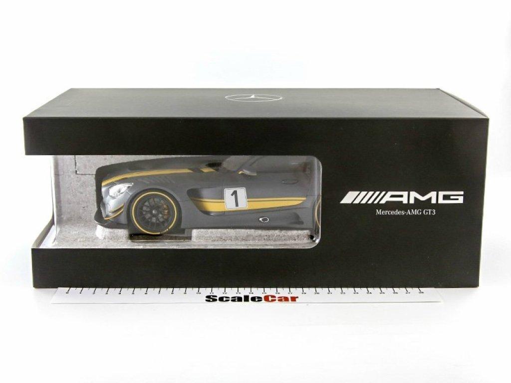 1:18 Norev Mercedes-Benz AMG GT3 (C190) 2015 серый