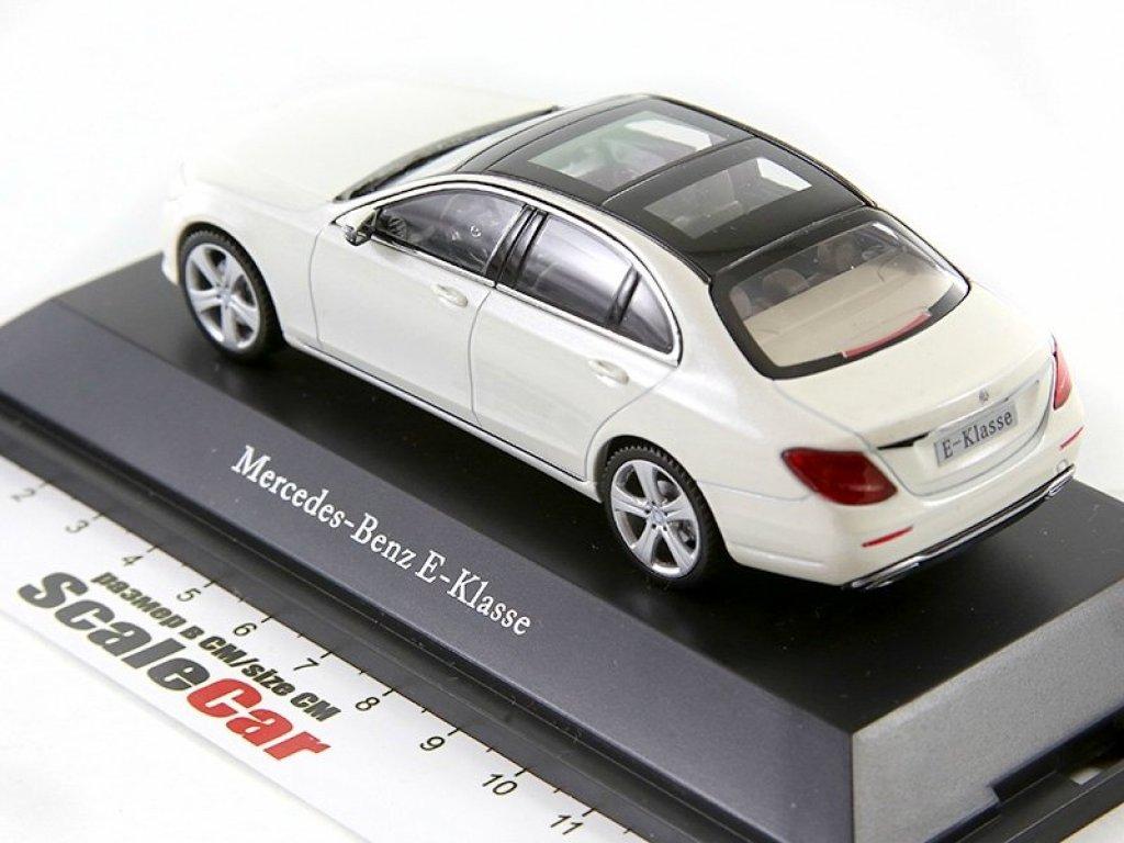 1:43 I-Scale Mercedes-Benz E-class Avantgarde 2016 W213 белый
