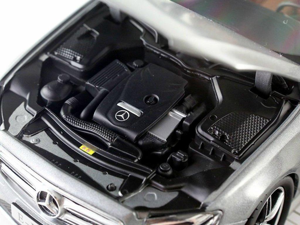 1:18 Kyosho Mercedes-Benz E-class AMG-Line 2016 W213 designo selenitgrau magno серый матовый