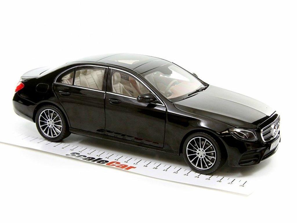 1:18 I-Scale Mercedes-Benz E-class AMG-Line 2016 W213 черный мет.
