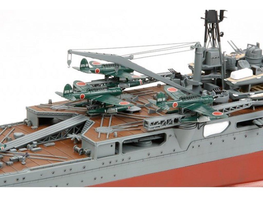 1:350 Tamiya Тяжелый крейсер Tone