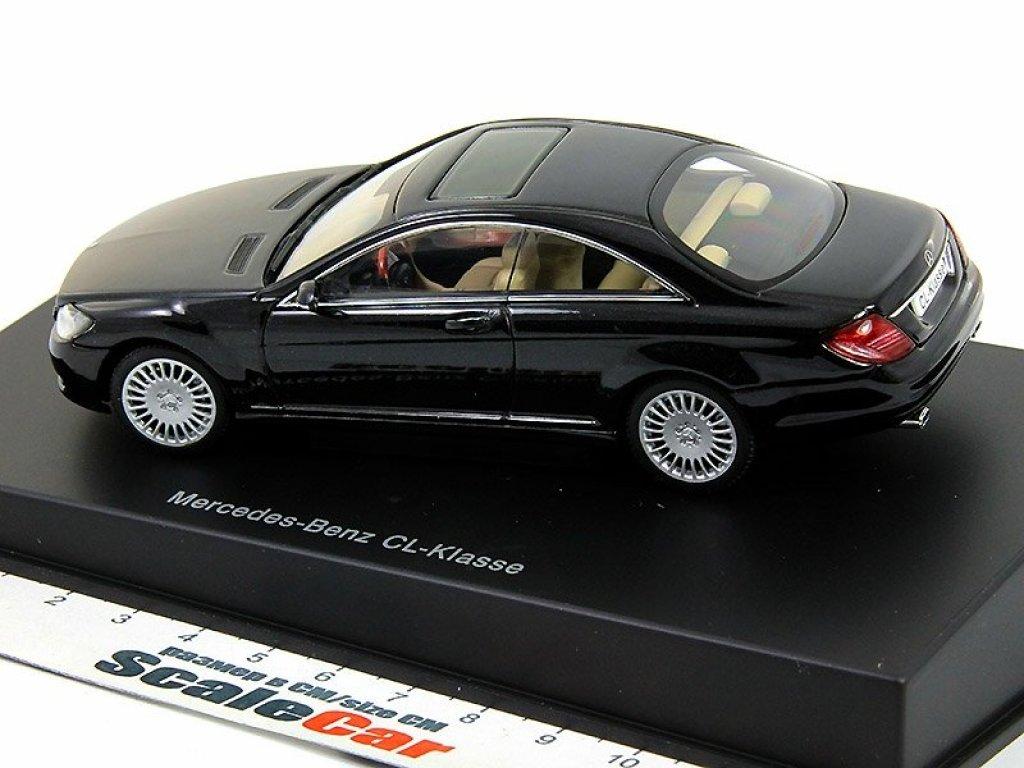 1:43 AUTOart Mercedes-Benz CL 500 C216 2006 BLACK