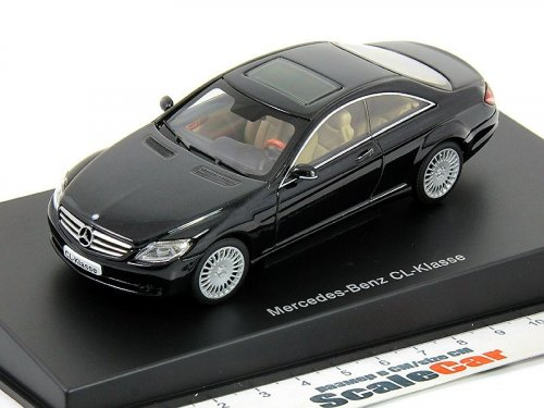 1:43 AUTOart Mercedes-Benz CL500 C216 2006 черный