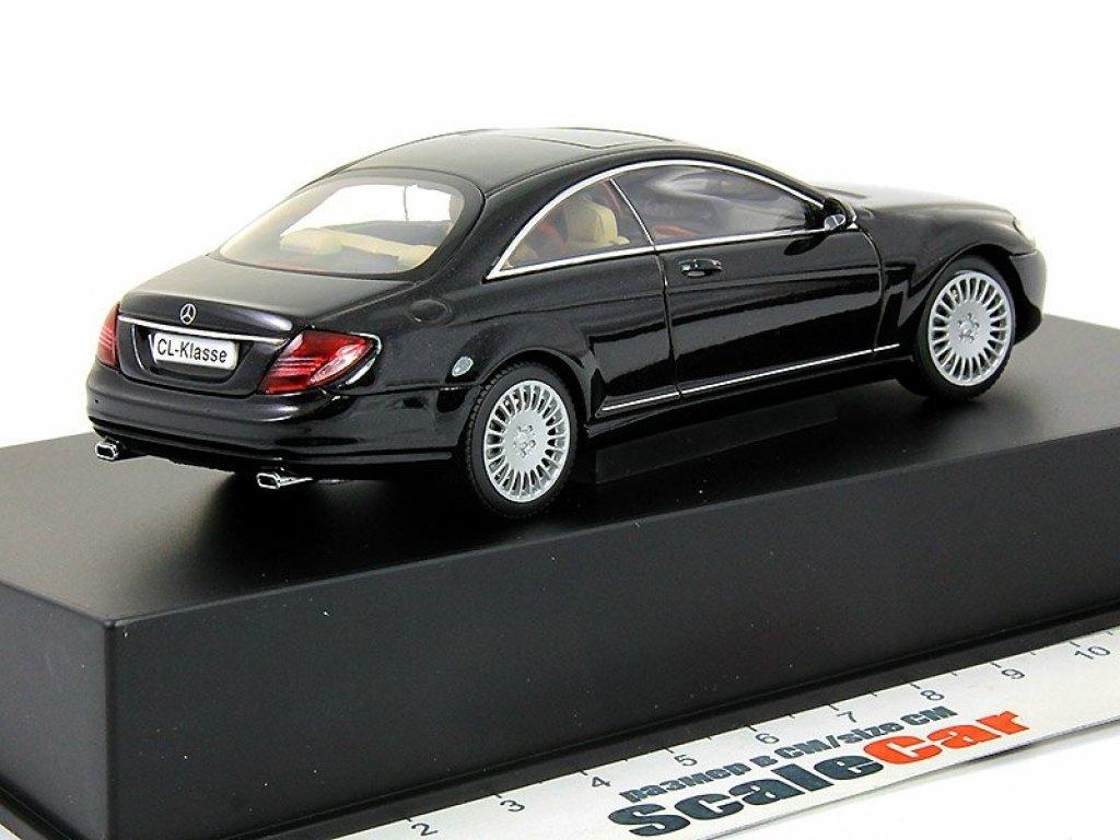 1:43 AUTOart Mercedes-Benz CL500 C216 2006 черный