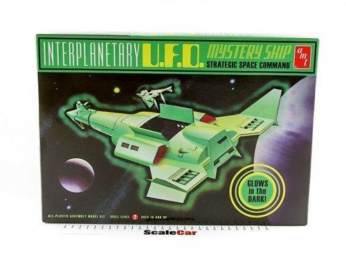 1:500 AMT UFO Mystery Ship светится в темноте