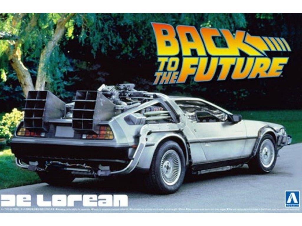 1:24 Aoshima Автомобиль DeLorean GMC LK coupe Back to the Future (фильм Назад в будущее)