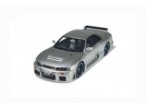 1:18 Otto Nissan Skyline R33 Nismo GT-R LM серый мет