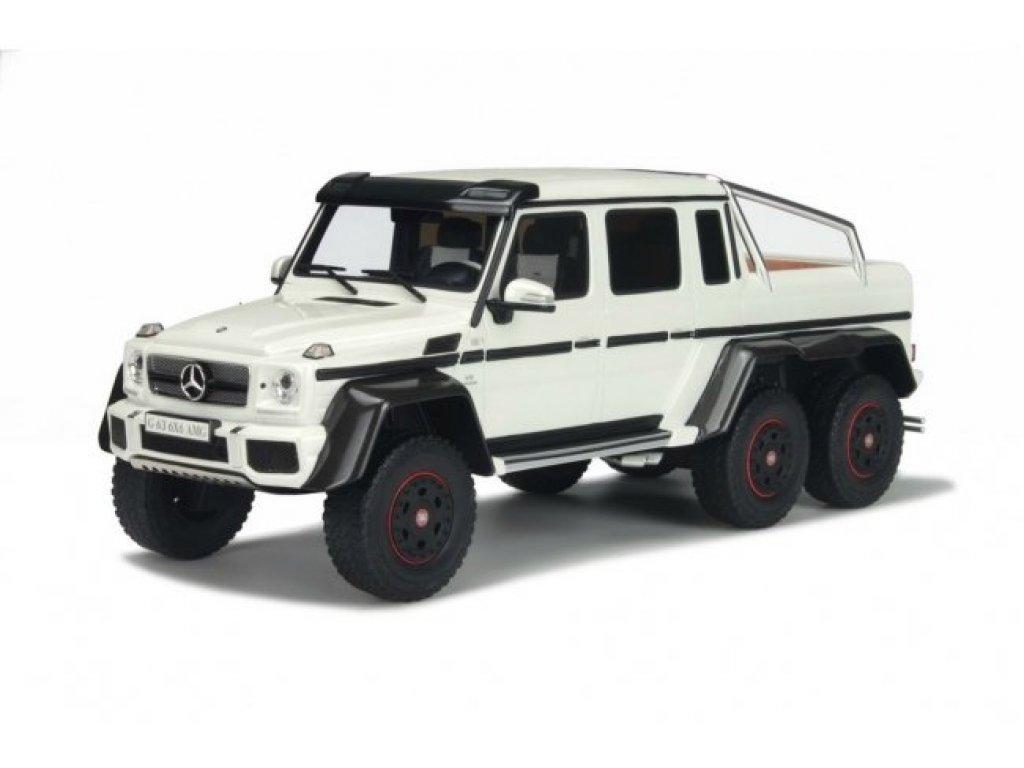 1:18 GT Spirit Mercedes-Benz G63 AMG 6x6 2014 белый