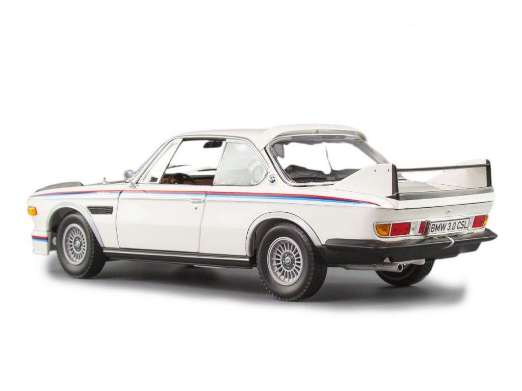 1:18 Minichamps BMW 3.0 CSL E9 1973 белый с М-полосками