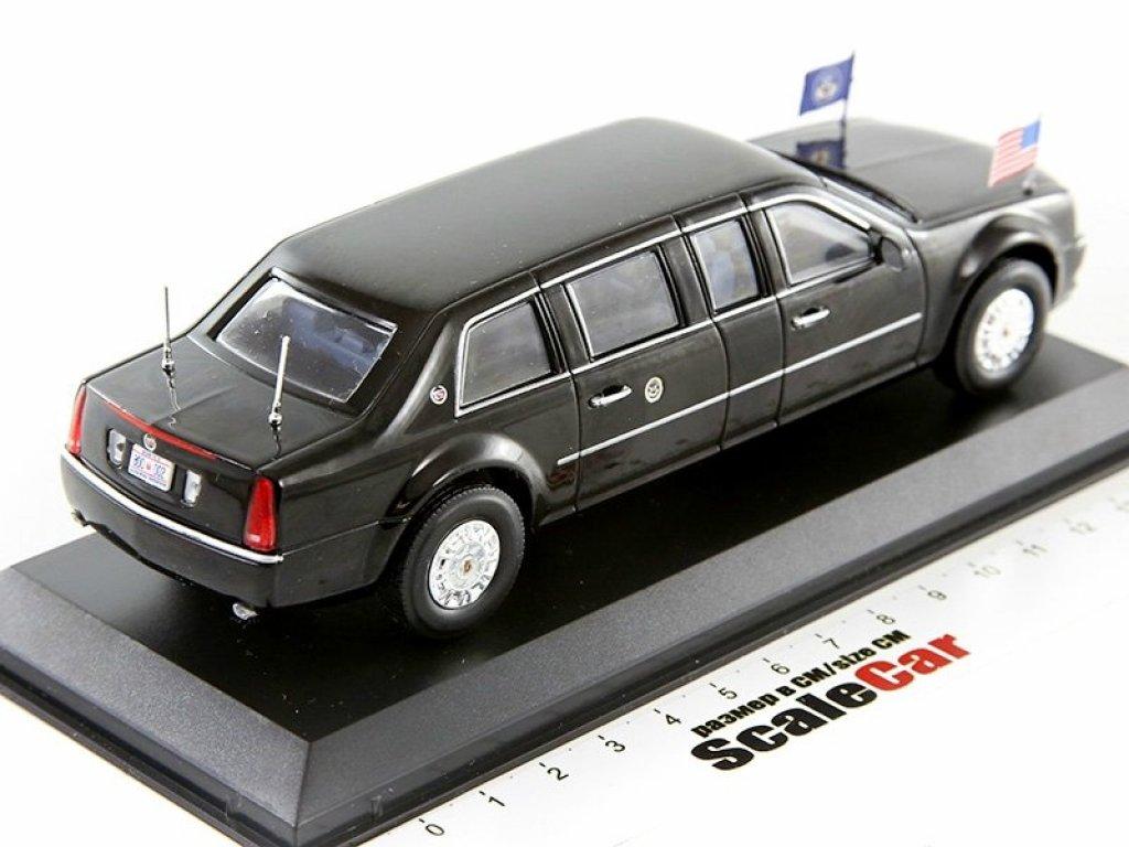 1:43 GreenLight Cadillac Limousine The Beast президента США Барака Обамы 2009 Barak Obama