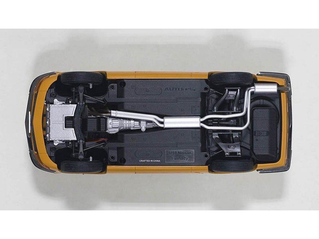 1:18 AUTOart Nissan Fairlady Z432 1969 (оранжевый)