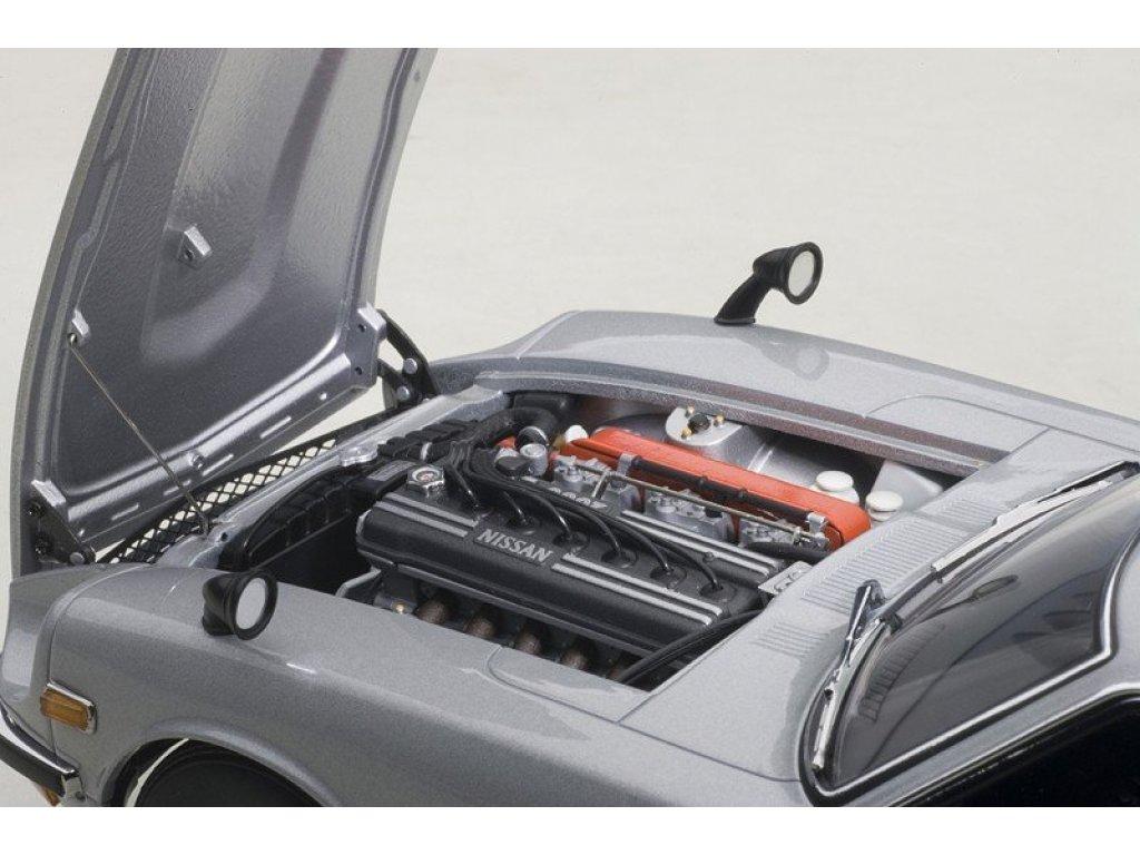 1:18 AUTOart Nissan Fairlady Z432 1969 (серебристый)