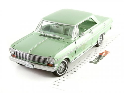 1:18 Sunstar Chevrolet Nova 1962 laurel green зеленый мет.