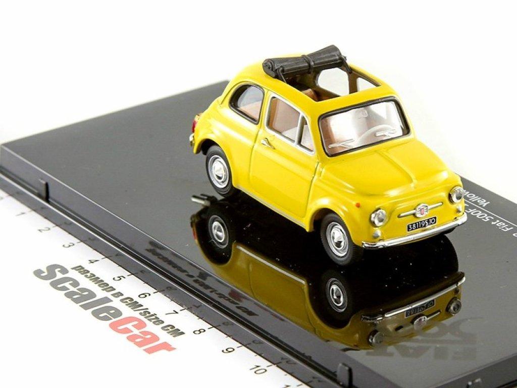 1:43 Vitesse FIAT 500F 1965 желтый