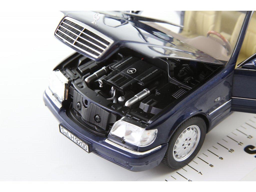 1:18 Norev Mercedes-Benz S500 W140 1998 темно-синий мет.