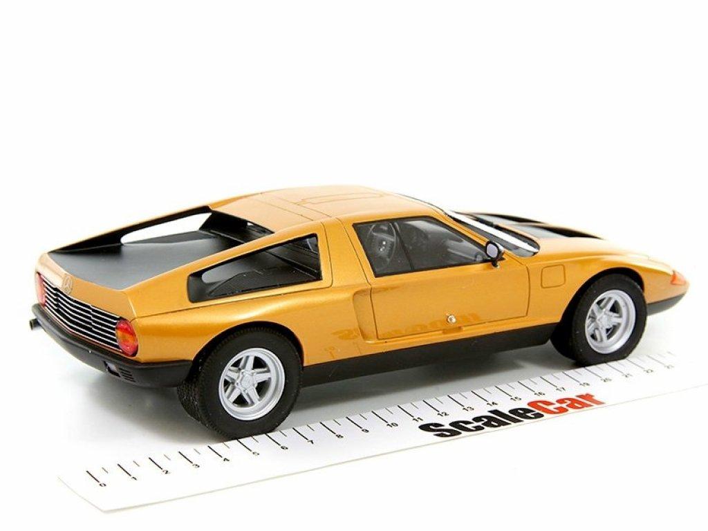 1:18 Best of Show Mercedes-Benz C111/II Concept Car 1970 оранжевый