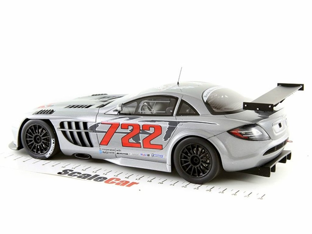 1:18 GT Spirit Mercedes-Benz SLR McLaren 722GT серый мет.