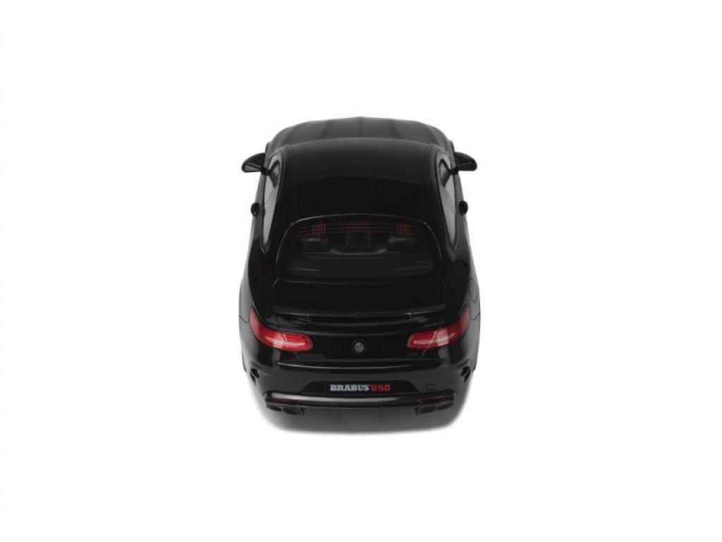 1:18 GT Spirit Brabus 850 Mercedes-Benz S-Class Coupé (C217) 2015 черный