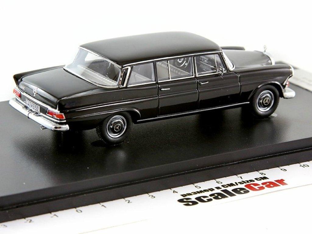 1:43 GLM Mercedes-Benz 200D Binz W110 1965 длинный, черный
