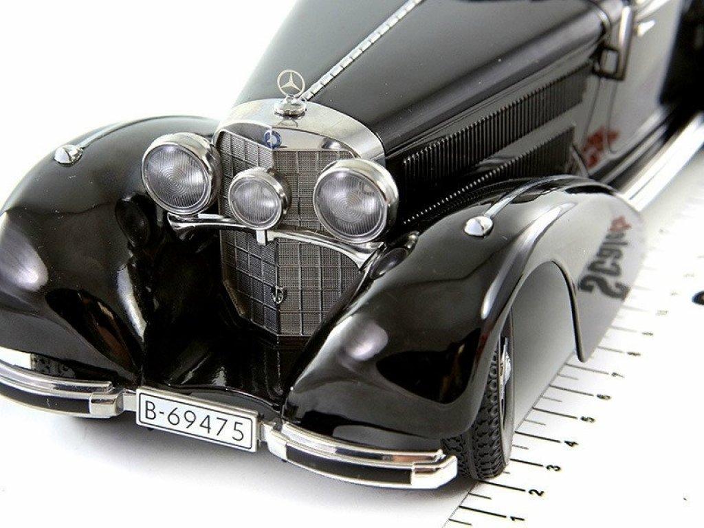 Mercedes Benz 540K Autobahnkurier 1938 Black KK Scale 1:18 KK180081